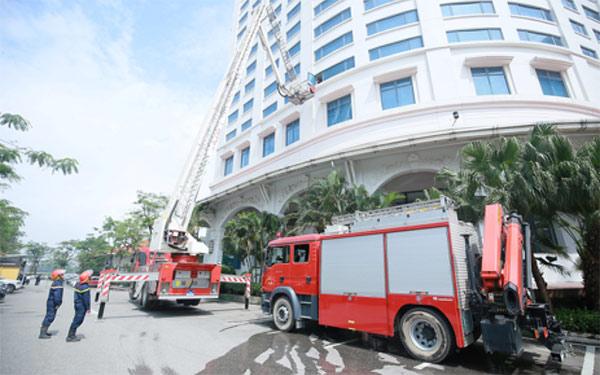 Nâng cao hiệu quả công tác phòng cháy chữa cháy khách sạn