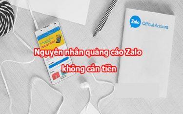 Nguyên nhân và giải pháp khắc phục quảng cáo Zalo không cắn tiền