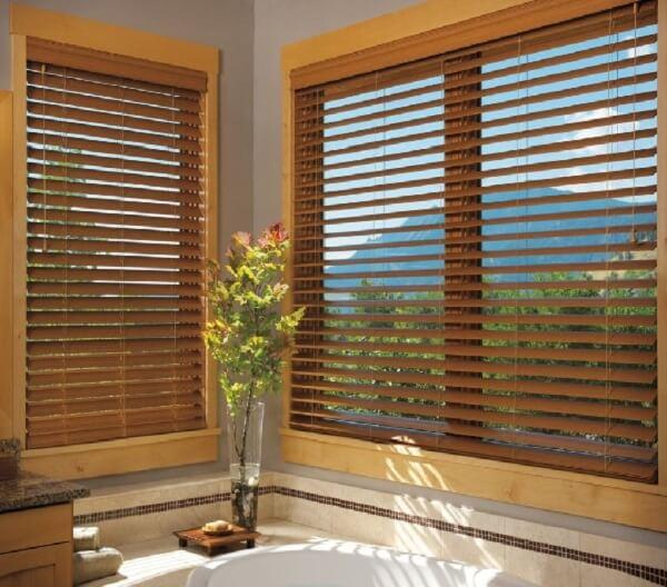 Rèm sáo gỗ tạo nên sự gần gũi và thân thiện với thiên nhiên