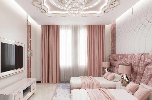 Nên lựa chọn rèm cửa phù hợp với phong cách của phòng khách sạn