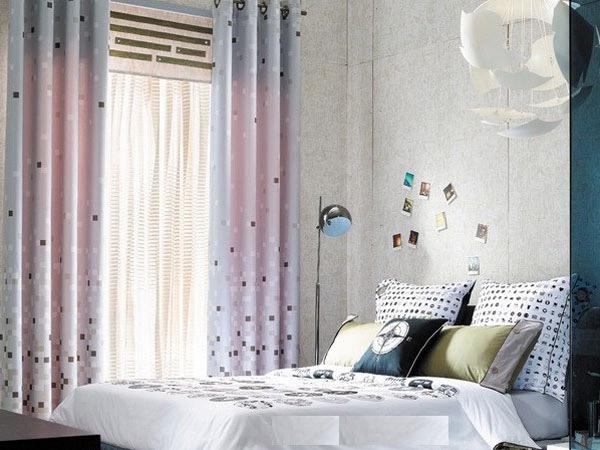 Làm đẹp không gian với mẫu rèm 2 lớp mỏng, màu sắc hài hòa