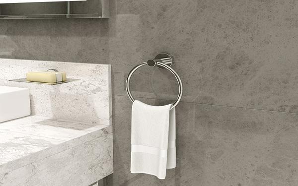 Nên sử dụng vòng treo khăn tắm dính tường hay khoan bắt vít?