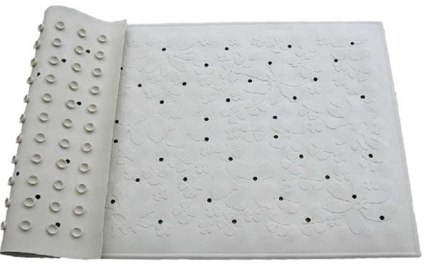 Thảm chống trơn trong nhà tắm khách sạn cần đảm bảo được khả năng chống trơn trượt nhờ khả năng bám dính ở mặt thảm