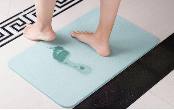 Các vị trí thường đặt thảm chùi chân trong phòng khách sạn