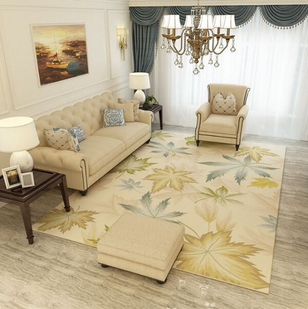 Sử dụng những tấm thảm trải sàn được mua ở nơi uy tín sẽ giúp bạn yên tâm hơn