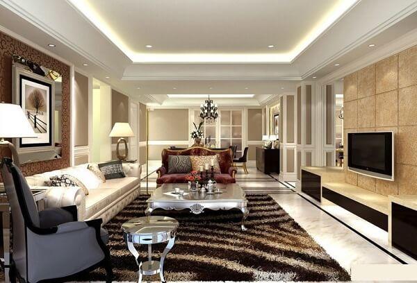 Những tấm thảm trải sàn cao cấp nhập khẩu luôn là lựa chọn hàng đầu của những khách sạn sang trọng