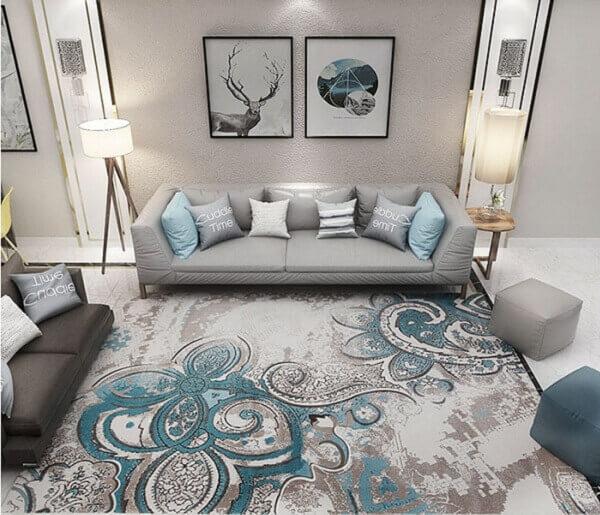Những tấm thảm trải sàn nhập khẩu đều sở hữu sự đa dạng về mẫu mã và màu sắc