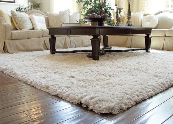 Những tấm thảm này cũng góp phần làm giảm tiếng ồn trong phòng