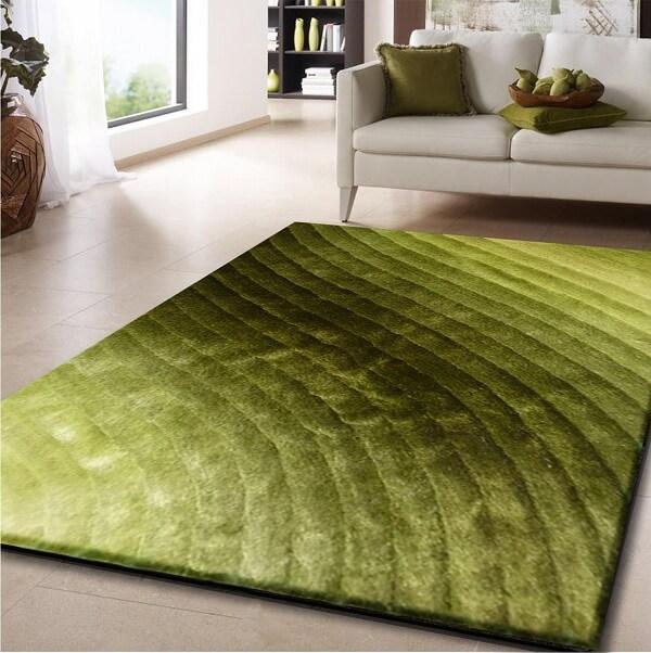 Nên ưu tiên sử dụng những tấm thảm có thiết kế cùng màu sắc hài hòa với tổng thể căn phòng