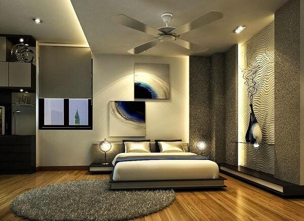 Những tấm thảm với chất liệu sợi tự nhiên khiến căn phòng trở nên ấm áp hơn