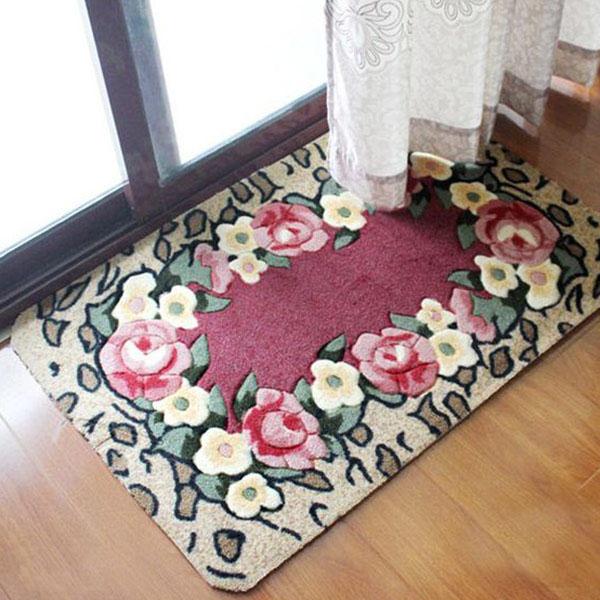 Thảm đẹp giúp căn phòng thêm cuốn hút