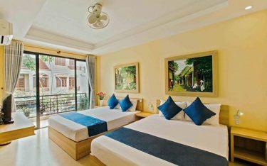 Bí quyết thiết kế nội thất nhà nghỉ đẹp, ấn tượng với chi phí thấp