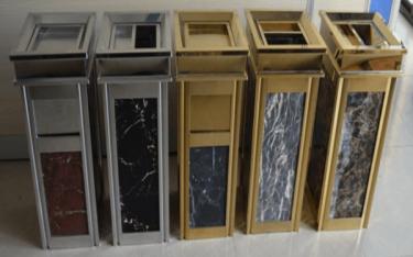 Vì sao thùng rác đá hoa cương được ưu tiên đặt tại sảnh khách sạn?