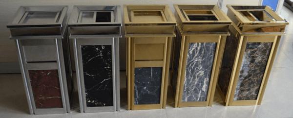 Những chiếc thùng rác này được chế tạo từ chất liệu cực bền bỉ, giúp giảm thiểu được chi phí thay thùng rác của các nhà hàng, khách sạn