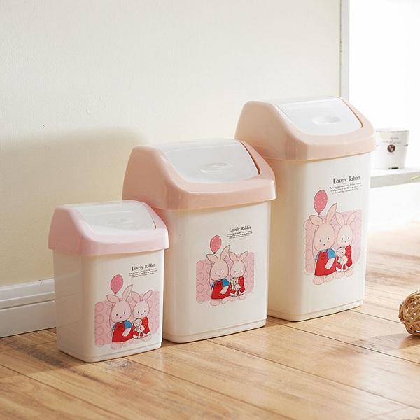 Hãy ưu tiên sử dụng các loại thùng rác có kích cỡ nhỏ cho phòng ngủ khách sạn