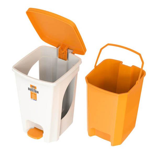 Thùng rác nhựa là lựa chọn phù hợp cho nhà nghỉ vừa và nhỏ