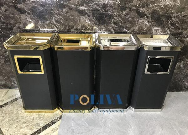 Chọn các loại thùng rác có thân, đế chắc chắn, đảm bảo độ bền bỉ
