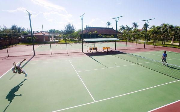 Mở rộng loại hình vui chơi thể thao với sân tennis