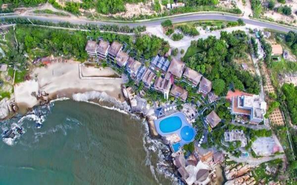 Khách hàng dễ dàng tìm thấy điểm đến resort ngay trên các trục đường chính