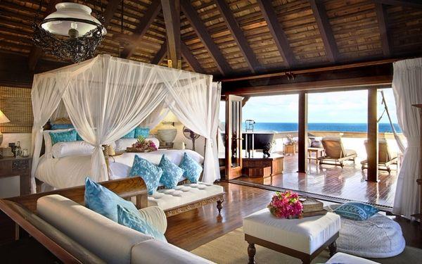 tiêu chuẩn thiết kế resort 4: Không gian mở phòng ngủ được bố trí nội thất tiện nghi, đẹp mắt