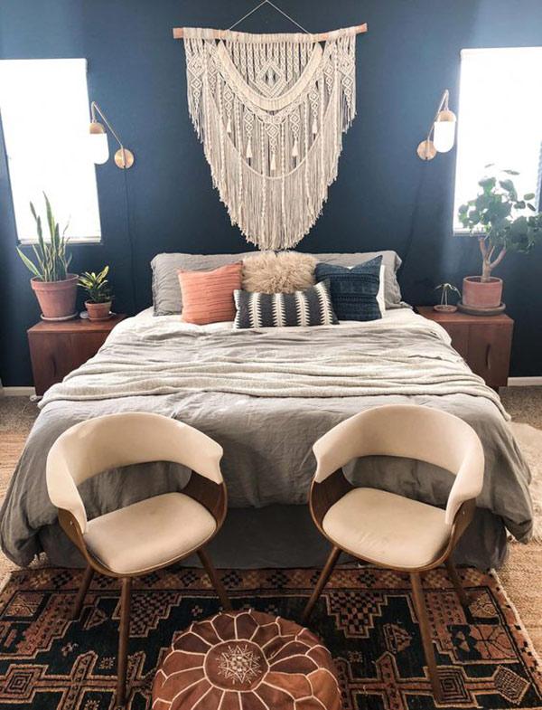 trang trí phòng ngủ homestay