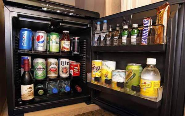 Tủ mát mini bar – thiết bị phải có trong các khách sạn, resort cao cấp