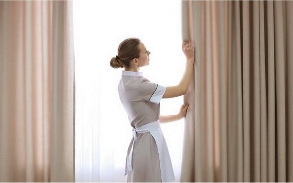Đối với một vài loại rèm có chất liệu đặc biệt thì cần sử dụng phương pháp giặt khô