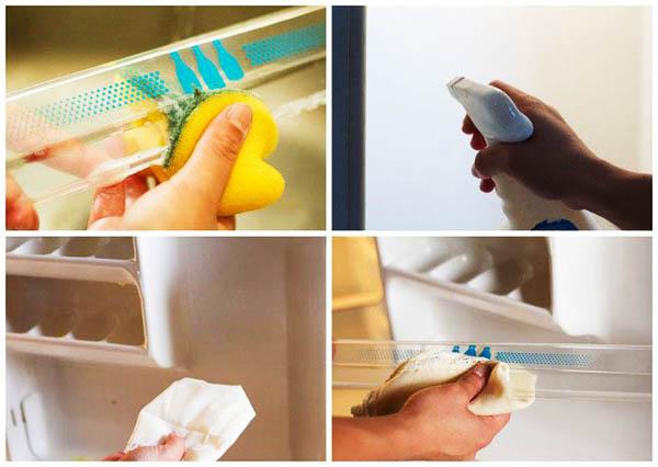 Các bước vệ sinh tủ lạnh mini