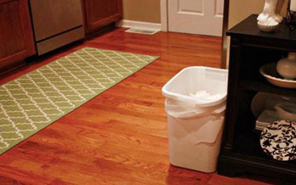Các góc phòng nên đặt thùng rác để tránh làm ảnh hưởng đến thẩm mĩ không gian