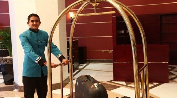 Đây là mẫu xe đẩy hành lý được nhiều khách sạn ưa chuộng nhất hiện nay