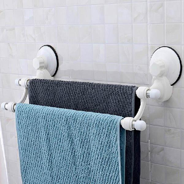 cách lắp giá treo khăn tắm