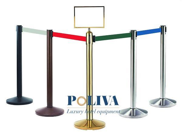 Cột chắn dạng dây căng dùng cho sự kiện, lễ hội