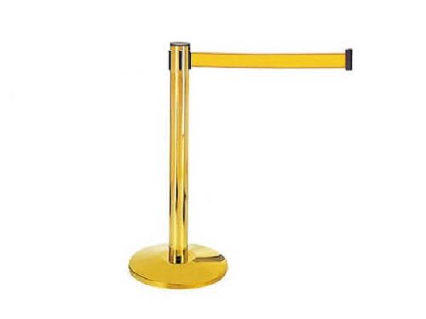 Cột chắn mạ vàng dây căng thiết kế sang trọng