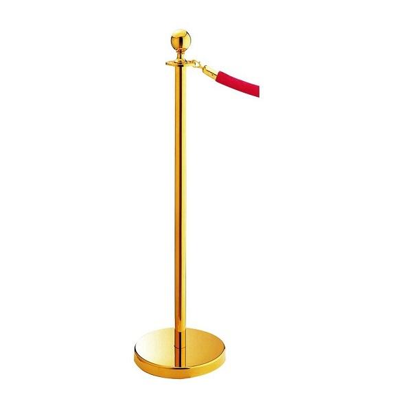 Cột mạ vàng chân đế thiết kế chắc chắn