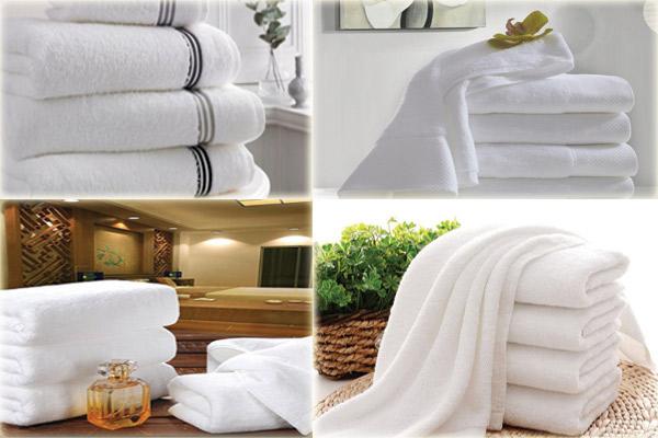 Khách sạn thường trạng bị sẵn một số khăn trong phòng