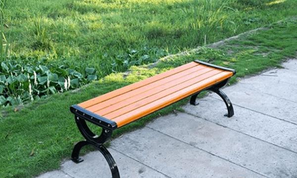 Hình ảnh ghế công viên bằng gỗ không tựa