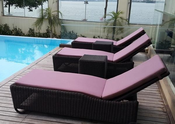 Trải qua những công đoạn kiểm tra nghiêm ngặt trước khi được bày bán, các mẫu ghế bể bơi cao cấp đem đến sự đảm bảo an toàn
