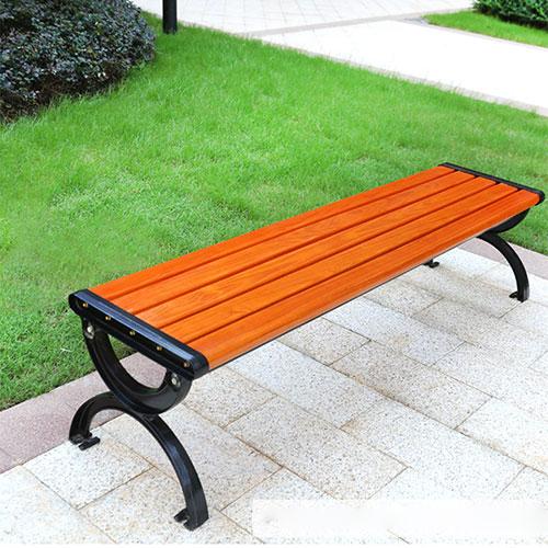 Ghế công viên bằng gỗ không tựa