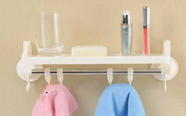 Giá treo khăn mặt hút chân không có chắc chắn không, nên dùng không?
