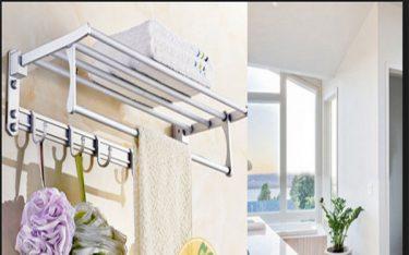 Lý do khách sạn nào cũng nên dùng giá treo khăn tắm 2 tầng đa năng