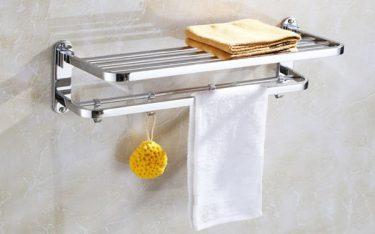 4 loại giá treo khăn nhà tắm phù hợp sử dụng trong khách sạn, resort