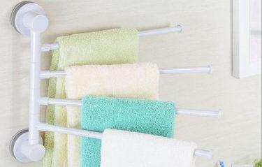 Giá treo khăn nhựa: Đa dạng màu sắc, kiểu dáng sang xịn