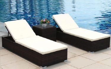 Giường bể bơi – tắm nắng là gì? Các chất liệu cấu tạo nên giường bể bơi