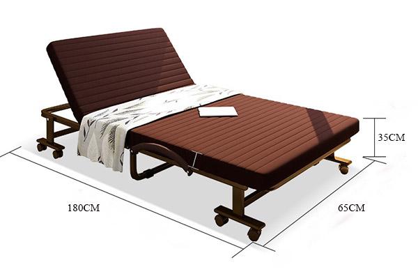 Giường gấp Hàn Quốc kiểu dáng hiện đại, sang trọng
