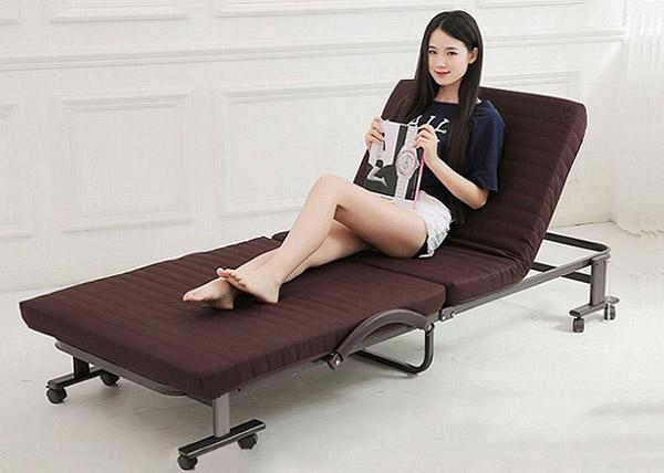 Giường phụ tạo cảm giác thoải mái cho người sử dụng khi ngồi hay nằm