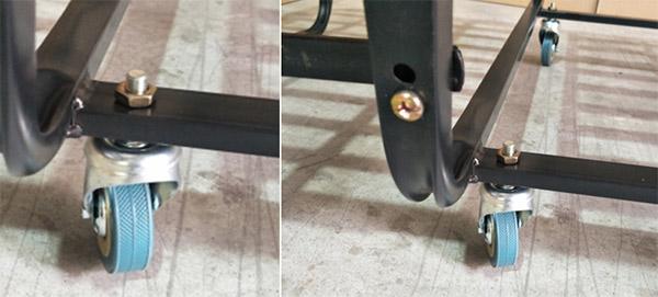 Kết cấu chắc chắn, bánh xe lăn di chuyển tiện lợi