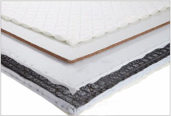 Kết cấu tấm nệm trong mẫu giường extra bed