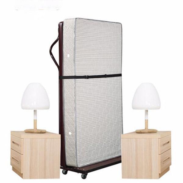 Kiểu giường đứng giúp tiết kiệm diện tích khi bảo quản