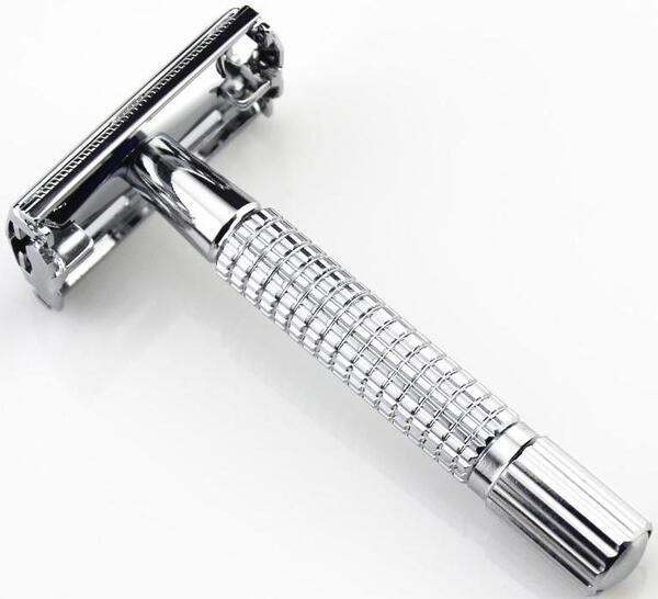 Dao cạo râu cán tròn inox hiện đại, sang trọng và bền đẹp, các khách sạn cao cấp thường xuyên sử dụng loại dao này