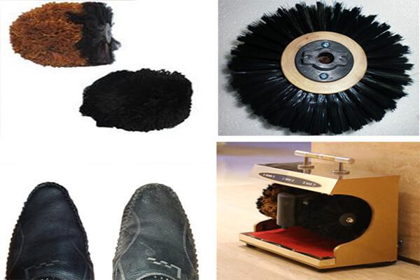 Nên chú ý lựa chọn các loại chổi mềm mại và phù hợp với từng loại giày khác nhau